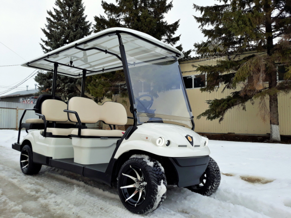 Golf cart Concordiya GK4 + 2 with a platform