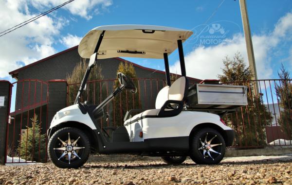 Golf cart Concordiya GK2 with cargo bed